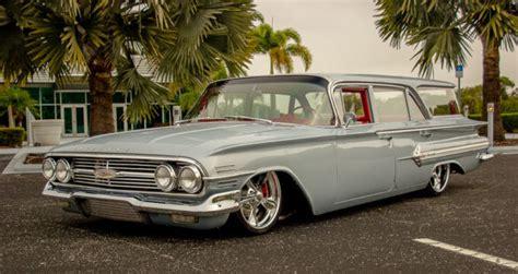 1960 chevy impala wagon 1960 chevrolet nomad wagon air ride rod rod