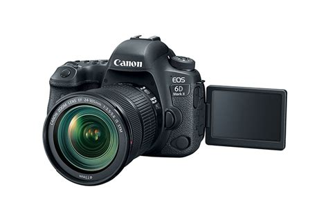 Canon Eos 6d Dslr Kit 24 105mm F35 56 Is Stm Built In Wifi And Gps canon eos 6d mkii ef 24 105mm is kit 26 2mp dslr with 24 105mm is stm lens kit compass