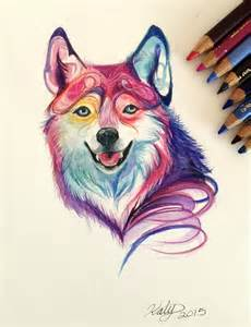 colorful wolf 176 colorful wolf by lucky978 on deviantart