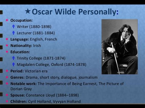 Oscar Invades Blvd Again by Oscar Wilde 1854 1900