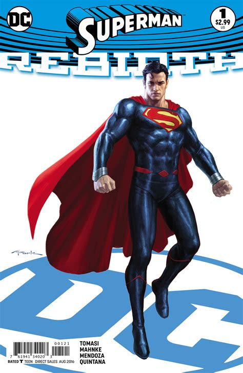 exclusive preview superman rebirth 1 comic vine