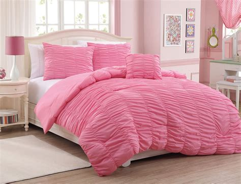 pink bed set total fab colored bedding comforters sheet sets