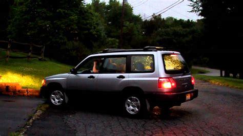 subaru forester exhaust 2002 subaru forester open exhaust