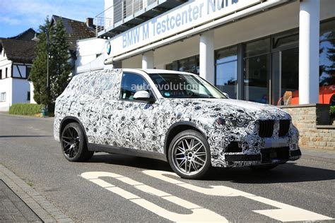 bmw x5m 2019 spyshots 2019 bmw x5 m spotted for the time packs