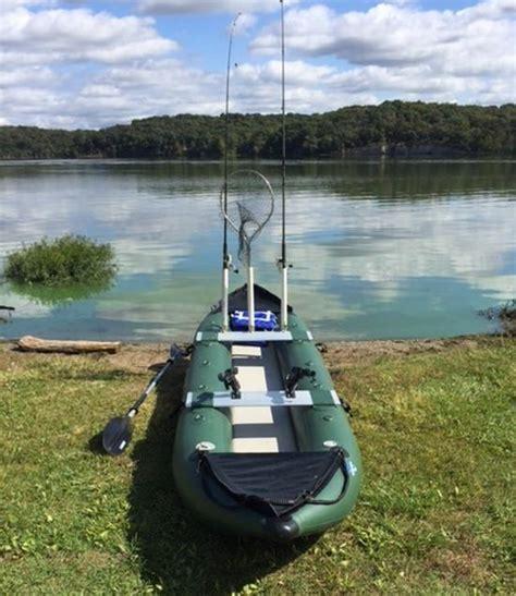 inflatable fishing boat setup saturn 13 fk396 pro angler series inflatable fishing kayaks