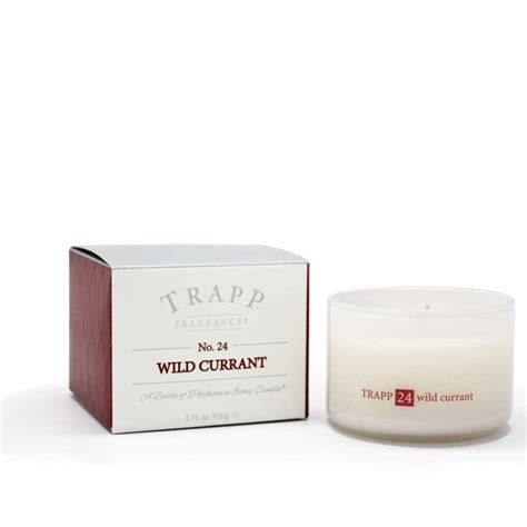 Trapp Candles Trapp Candles No 24 Currant 3 75 Oz Poured Candle