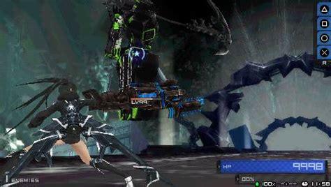 theme psp black rock shooter black rock shooter the game user screenshot 3 for psp