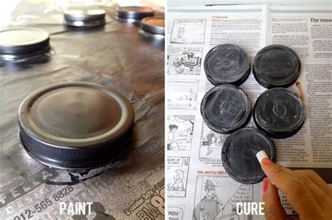 chalkboard paint jar lids make it chalkboard paint jar lids green dot
