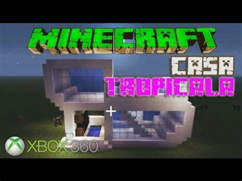 cum sa construiesti o casa tropicala in minecraft xbox