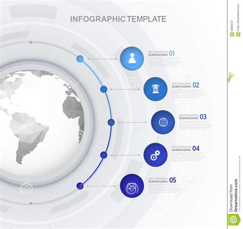 Infographic Template Stock Image Image Of Elements Copyspace 92650721 Infographic Email Template
