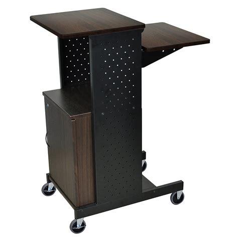 Luxor Furniture by Luxor Furniture Ps4000c W Adjustable Presentation Station