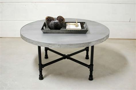 industrial pipe coffee table zinc industrial pipe coffee table southern
