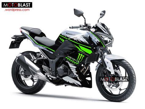 Striping Decal Variasi Jupiter Z1 Semi desain striping kawasaki z250 white energy motoblast