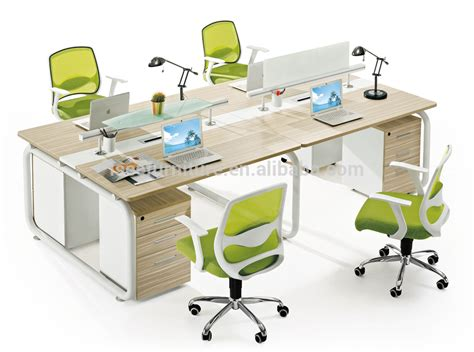 office partitian furniture table 8 seats workstation for