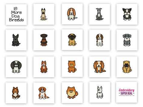 puppies by design 70 designs 36 breeds embroidery design pack plus bonus 18 in the hoop key fobs