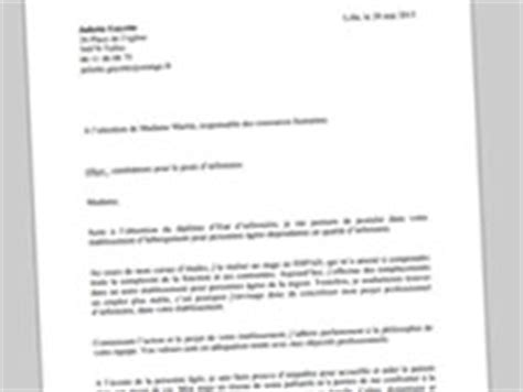 Stage Psychiatrie Lettre De Motivation Lettre De Motivation D Infirmi 232 Re Exemple Gratuit Et Conseils