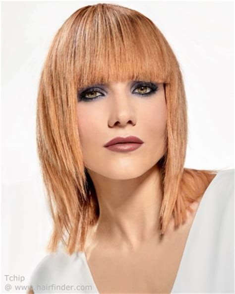 tapered bangs r styles hairstyle with bangs sharp angles and tapered sides