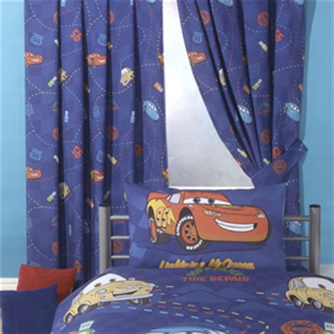 Curtains Boys Room Disney Cars Racing Track Curtains 72 Inch Drop Review