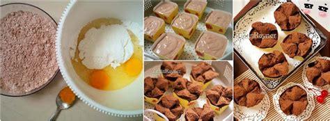 resep brownies kukus mekar  anti gagal nyliem
