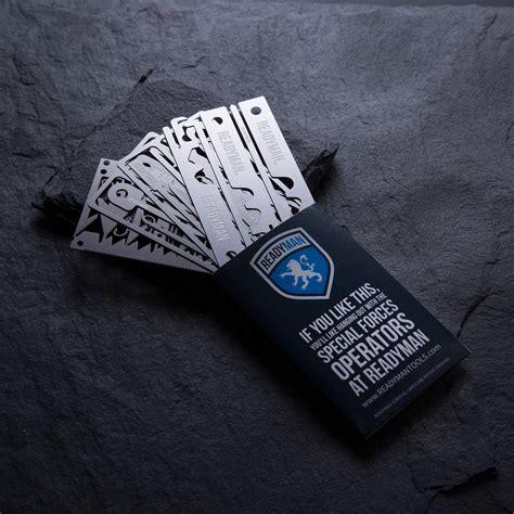 readyman survival cards set of 4 readyman survival