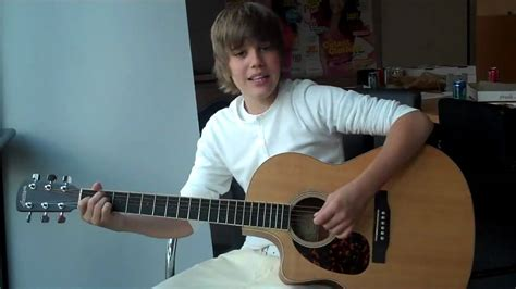 One Less Lonely Says Biebers Baby by Justin Bieber Singing One Less Lonely Live