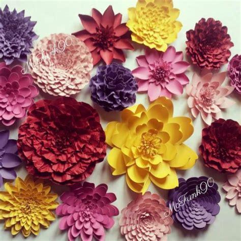 Handmade Flowers For Wedding - weddings handmade large paper flowers great for photo