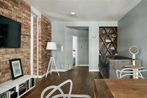 Dc Apartments Exposed Brick A Small And Stylish Apartment You Ll Want To Copy