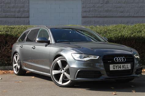 Audi A6 Quattro S Line by Used 2014 Audi A6 Avant Tdi Quattro S Line Black Edition