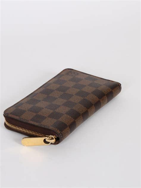 lv pattern wallet louis vuitton zippy compact wallet damier canvas ebene