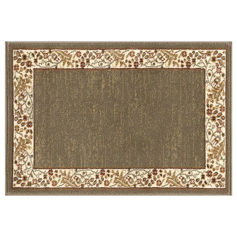2 x 3 area rugs tayse rugs sensation green 2 ft x 3 ft transitional area rug 4745 green 2x3 the home depot