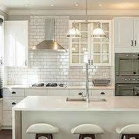 bespoke only gorgeous kitchen with white ikea cabinets subway tile range hood transitional kitchen kitchen lab