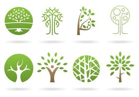 tree logo vector free tree logos vectors free vector stock