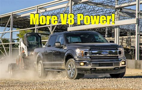 2018 ford f150 v8 specs 2018 ford f 150 all power specs announced 5 0l coyote v8 gets more power news the fast