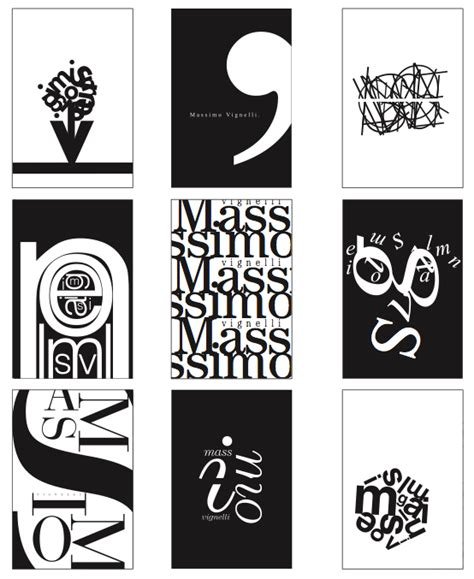 Home Design Brooklyn typographic zine inspired by massimo vignelli on behance