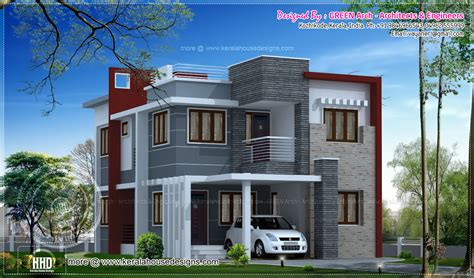 House Elevation Exterior Designs Kerala Home Design And Floor Plans One Floor Houses Hd » Home Design 2017