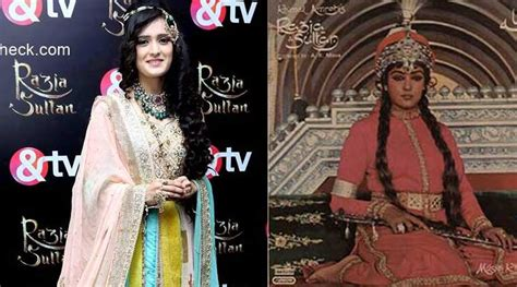 film seri razia sultan pankhuri awasthi follows hema malini for razia sultan