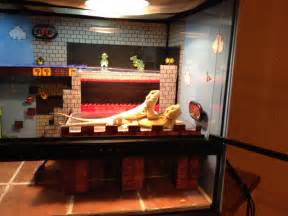 Bearded Decor Ideas by Closer View Of Bearded Dragons Enclosure Bearded