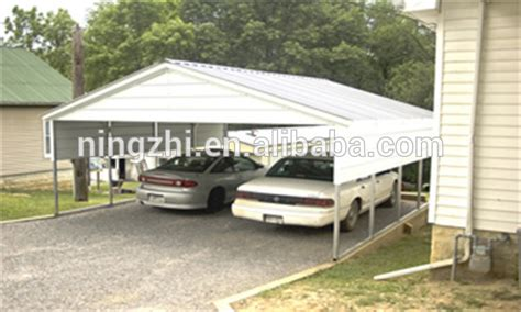 Two Car Carport Kits Metal Shelter Carport For Two Car Carport Kits For Sale