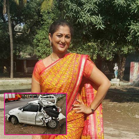 actress death pics kannada tv actress rekha krishnappa s death in a car