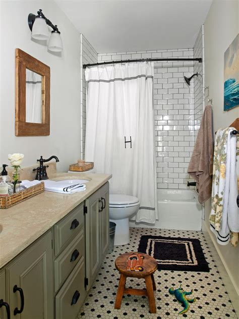 cottage bathroom ideas photos hgtv