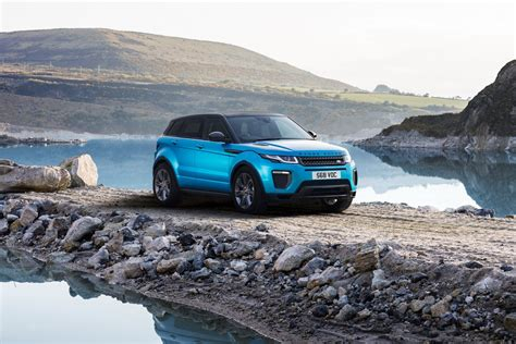 new land rover evoque land rover celebrates range rover evoque anniversary with