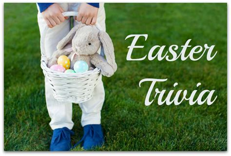 easter facts trivia happy easter trivia time