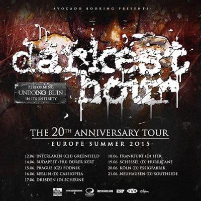 darkest hour tour darkest hour book june european 20th anniversary dates
