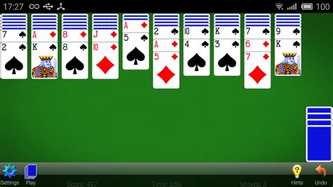 classic spider solitaire  android
