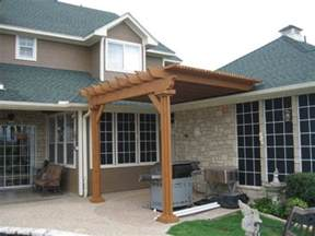 Attaching A Pergola To A House by Pergola How Is It Attached To Roof It S A Spring