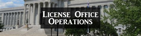 Office Operations by License Office Operations