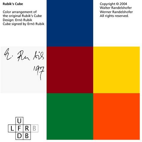 rubix cube colors cubes rubik s cube color variations signed