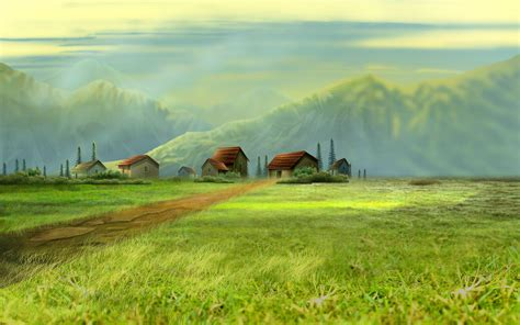 free wallpaper village dream village wallpapers hd wallpapers id 11567