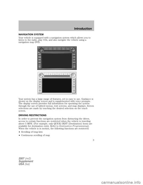 automotive service manuals 2006 ford mustang navigation system ford mustang 2007 5 g navigation system manual
