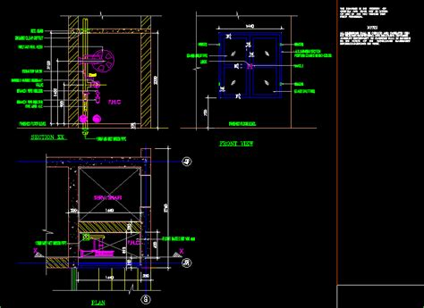 fire house cabinet dwg detail  autocad designs cad